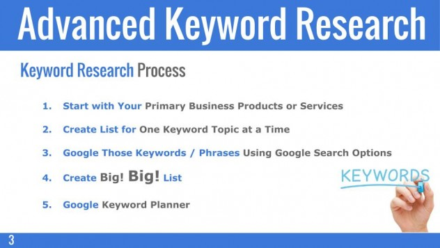 John Bolyard SEO Workshop Advanced Keyword Research