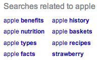 John Bolyard Google Related Searches Apple Fruit