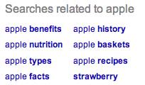 John Bolyard Google Related Searches Apple Fruit