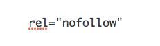 SEO Hack Nofollow Link